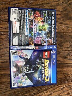 LEGO Batman 3: Beyond Gotham PS4 (Sony PlayStation 4, 2014)