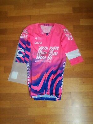 aero jersey maglia maillot trikot EF pro cycling team education first XS...