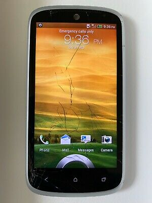 HTC One VX AT&T White/Black Android Phone - Memory: 1GB, Phone Storage: 4GB