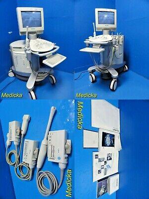 Siemens Sonoline Antares Ultrasound W Ec9-4 Ch4-1 Vfx13-5 Probes 19428