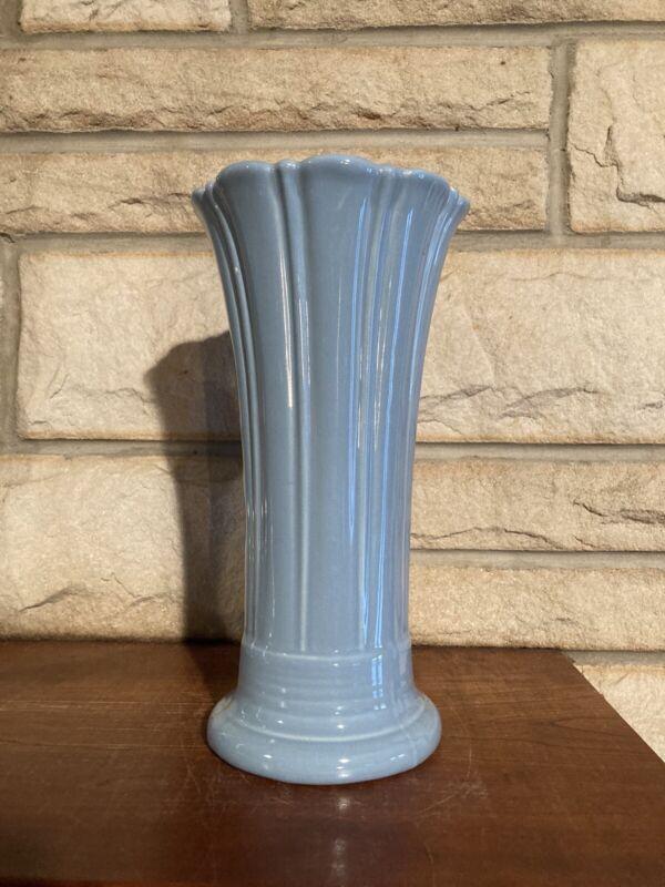 Fiestaware Periwinkle Medium Vase Fiesta Retired Blue Flared Flower Vase