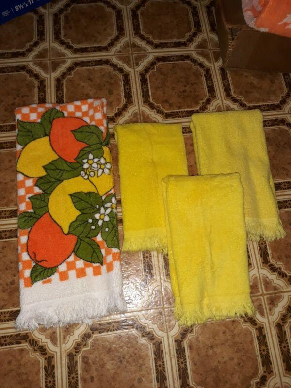 Vintage  Canon kitchen towel set