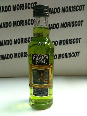 ABSENTA TUNEL 40ml 80 miniatura mignonette mini bottle SPAIN ABSINTHE ASSENZIO