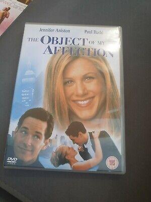 THE OBJECT OF MY AFFECTION DVD / JENNIFER ANISTON / BEN STILLER (cert 15)
