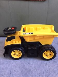 Ride-on toy truck