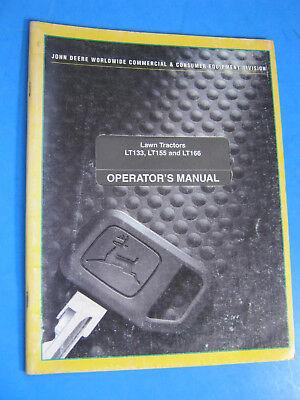 John Deere 990 Compact Tractor Operators Manual Oem Factory Original