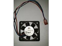 Delta AFB0505LA 50mm x 10mm 0.12A 2Pin 5V DC Brushless Ball Bearing Cooling Fan