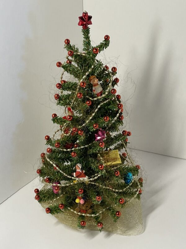 Department 56 vintage Christmas tree 13 Inches Tall