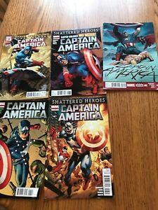 Captain America comics lot of 5