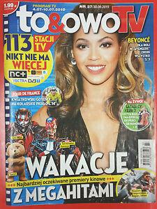 BEYONCE CHANNING TATUM TERMINATOR - TO&OWO TV Polish MAGAZINE magazin - <span itemprop=availableAtOrFrom>Gdynia, Polska</span> - BEYONCE CHANNING TATUM TERMINATOR - TO&OWO TV Polish MAGAZINE magazin - Gdynia, Polska