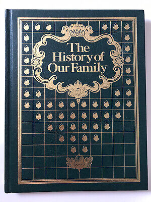 """""""The History Of Our Family"""" Book, Great way to record all your family's events."""