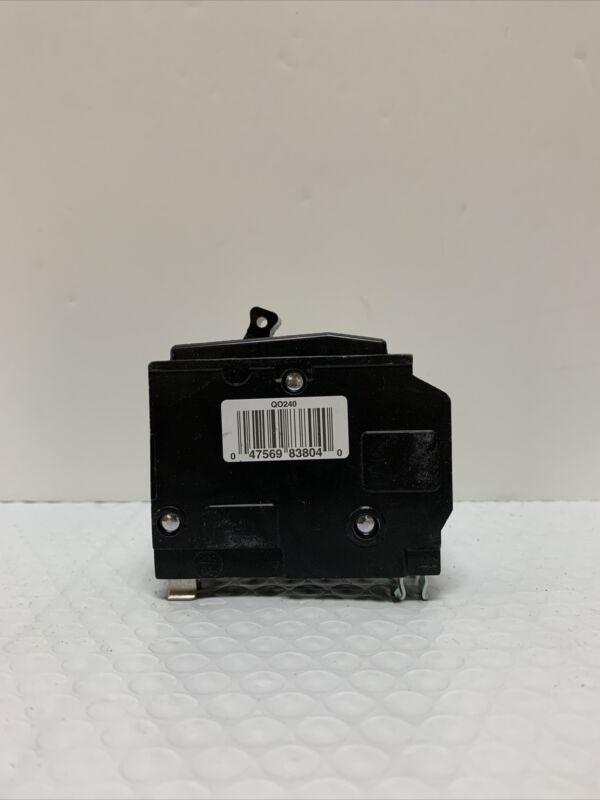 Square D - QO240 Circuit Breaker - 50|60 Hz - 120|240 V