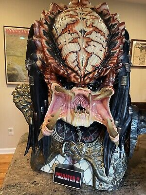 Coolprops Sideshow Predator 2 City Hunter 1:1 Life-Size Bust statue not hot toys