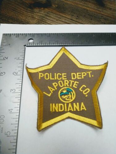 O patch police patches Laporte county Indiana