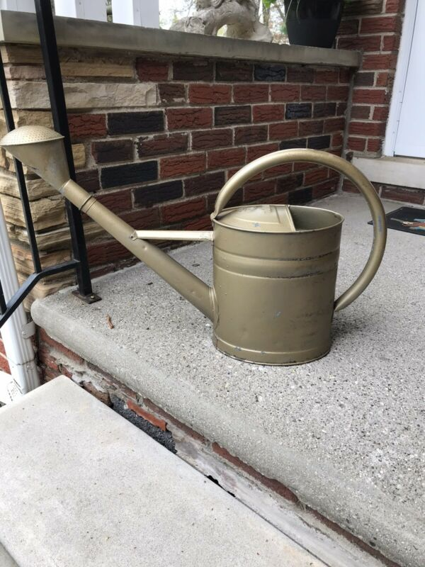 RARE Vintage German BAT Galvanized Zinc Watering Can 10 L DIN