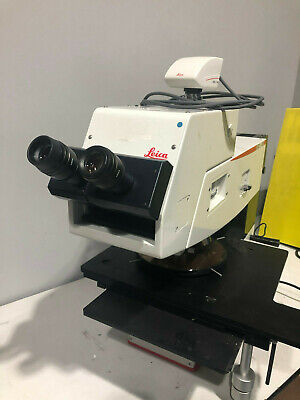 Leica Inm100 Wafer Inspection Microscope With Leica Dpc320 Camera