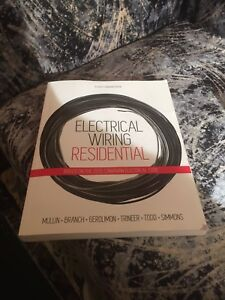 Electrical Wiring Residential 7th textbook