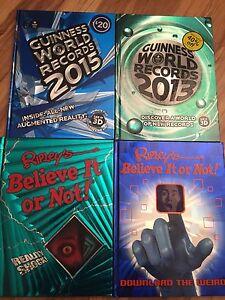 Ripleys/Guinness Books