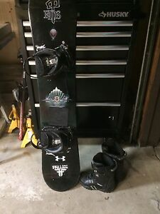 Snowboard Package For Beginner With Everything