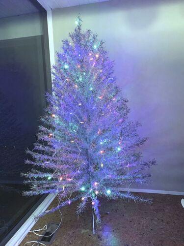 Vintage Aluminum Taper Christmas Tree In Box 6ft