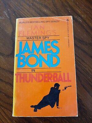 Ian Fleming Thunderball James Bond Paperback Berkley 3rd Print 1983 Good, Rare