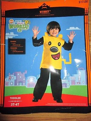 Boys WOW WOW WUBBZY Halloween Costume 3T - 4T toddler - Wubbzy Costume