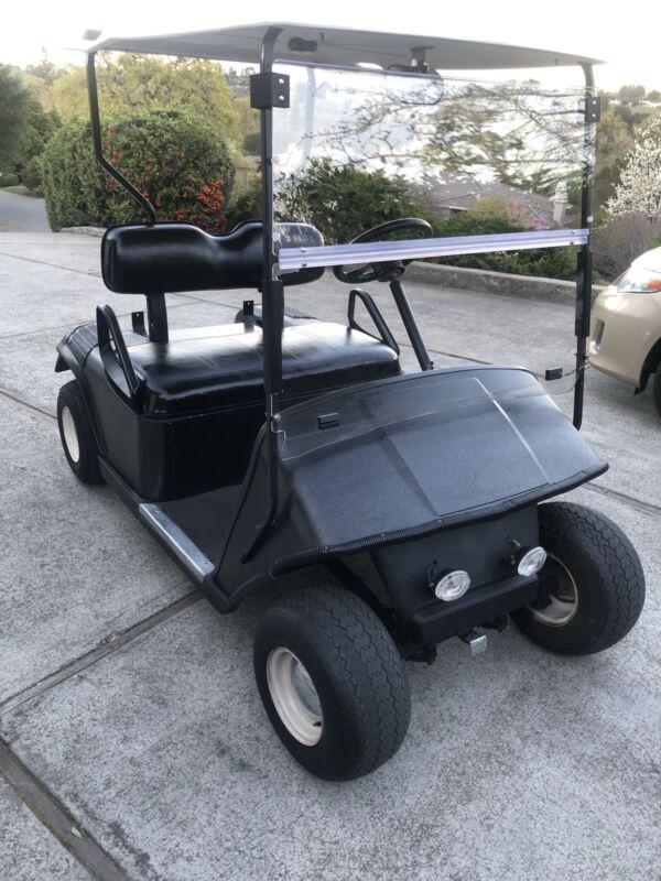 Clear Folding Acrylic Golf Cart Windshield For EZGO TXT 1994-2014 Fold Down