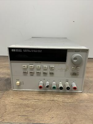 Agilent E3631a Triple Output Dc Power Supply 6v5a -25v1a Hp For Parts