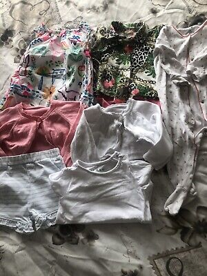 baby girls clothes 6-9 months bundle Used Next River Island Matalan