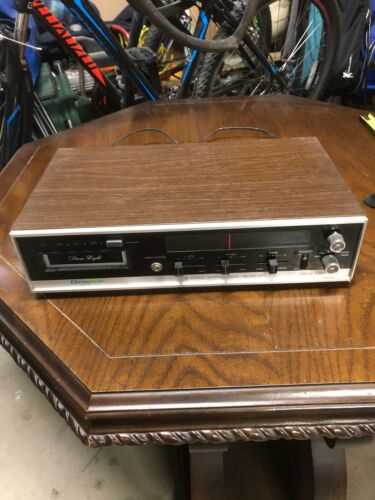 Vintage Electrophonic T-460 8-track player & tuner tested