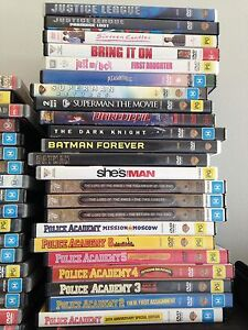 Heaps of DVDs for sale. Castle Hill The Hills District Preview