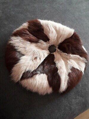 Vintage Mink Hat Mink Beret . Fur Hat
