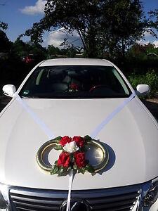 •●✿Ƹ̵̡Ӝ̵̨̄Ʒ✿●•Autoschmuck Hochzeit Goldene Ringe •●✿Ƹ̵̡Ӝ̵̨̄Ʒ✿●•