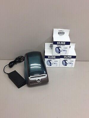 Dymo Labelwriter 400 Model 93089 W 3 Boxes Of Uline Shipping Labels