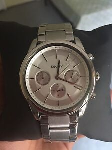DKNY Watch white and silver. Brand New!!