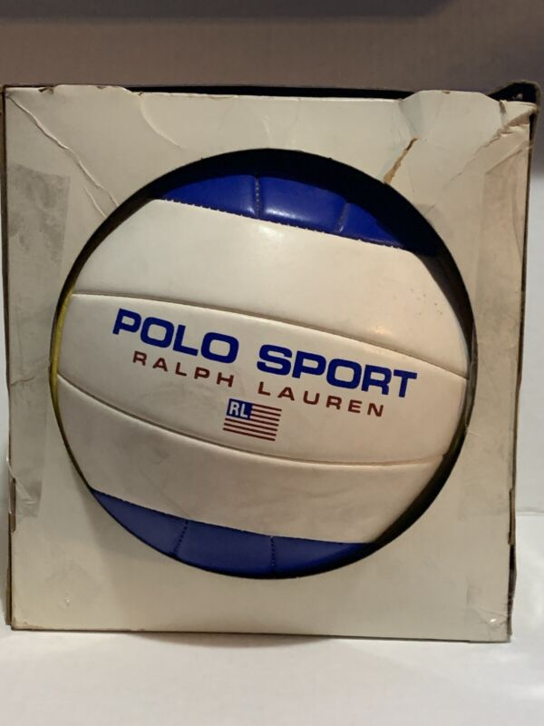 Vintage 1993 Ralph Lauren Polo Sport Volleyball USA Athlete Complete With Box
