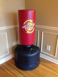 Punching boxing bag in excellent condition