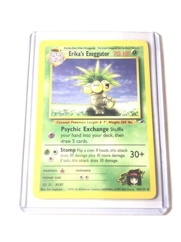 Pokemon Gym Heroes Erika/'s Exeggutor 44//132 VG//EX