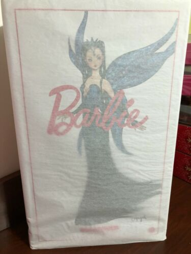 "BARBIE DOLL ""FLIGHT OF FASHION FANTASY PLATINUM W/COA**ONLY 5K RELEASED SHIPPER*"
