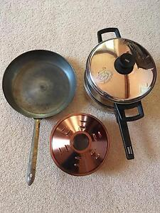 Stainless Steel Steamer and Crock Pot Cake Pan Beaconsfield Fremantle Area Preview