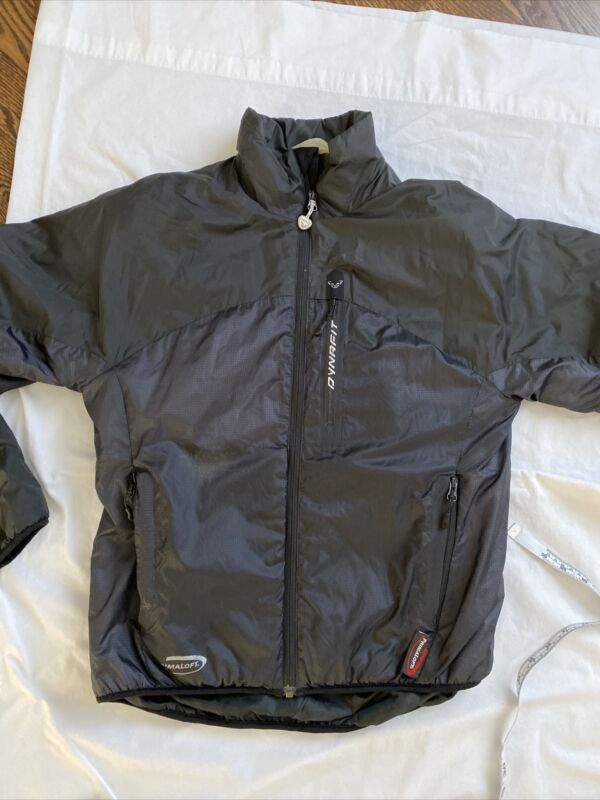 Dynafit Gorihorn jacket Mens Small 46  insulated Alpine Extreme black zip front