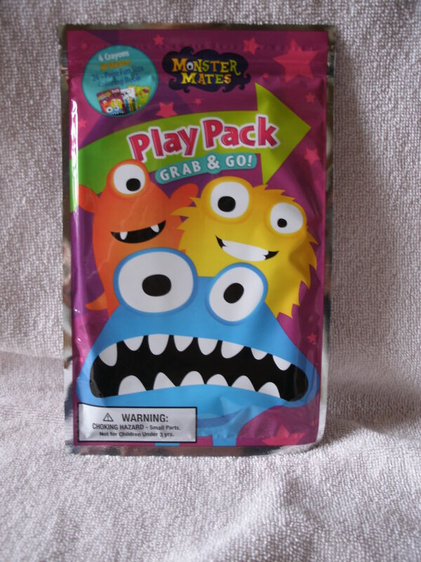 New Monster Mates Play Pack