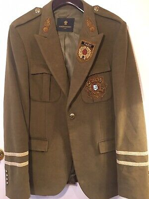 Lords And Fools Military Jacket Originally $1100