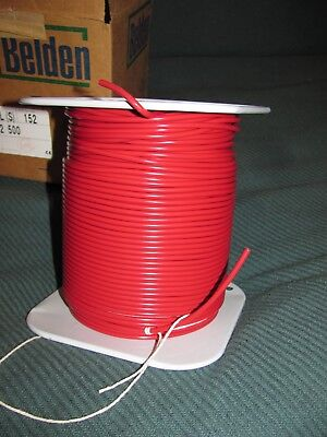500 Foot Reel High Voltage Wire Belden 8868 22 Awg 25kv Red