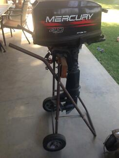 4HP Mercury outboard motor