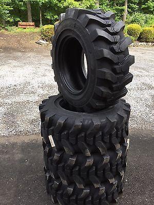4-12-16.5 Hd Skid Steer Tires-12x16.5- Camso Sks 732- For Skid Steer More