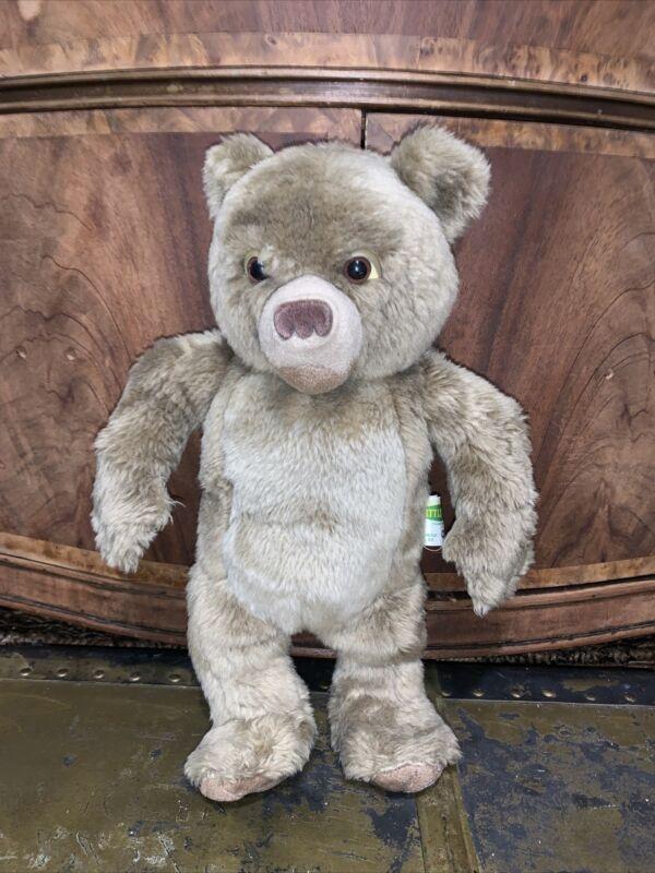 "KIDPOWER Little Bear 14"" Laughing BrownPlush Maurice Sendak 2000 Stuffed Animal"