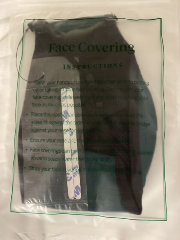 Exclusive GOLF Masters Tournament Official L/XL Face Mask New Unopened