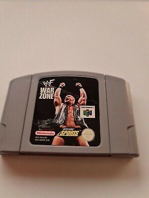 WWF War Zone (Nintendo 64, 1998) - N64 Cartridge Only