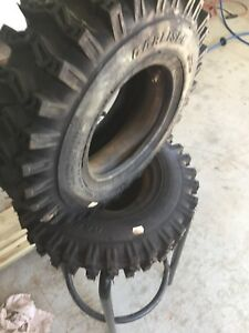 New snowblower tires